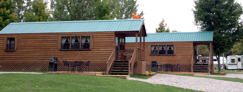 Deluxe Cabins and Lodges - Traverse City KOA - Traverse City, MI